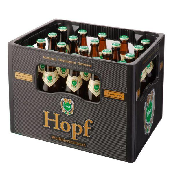 HOPF Weissbier hell 20/o,5 Ltr.
