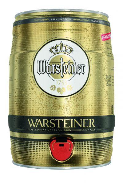 WARSTEINER 5 Ltr. Partyfässchen
