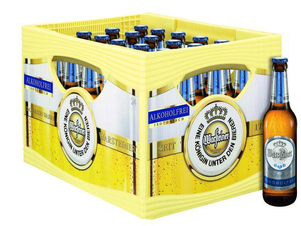 WARSTEINER Pils alkoholfrei 24/o,33 Ltr.