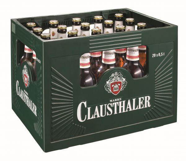 CLAUSTHALER Classic alkoholfrei 20/o,5 Ltr.