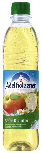 ADELHOLZENER Apfel-Kräuter 12/o,5 Ltr. PET