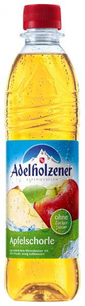 ADELHOLZENER Apfelschorle 12/o,5 Ltr. PET