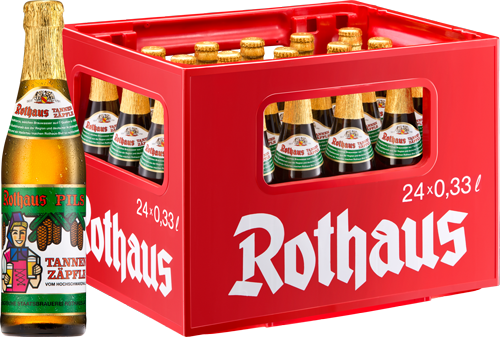 ROTHAUS Tannenzäpfle 24/o,33 Ltr.