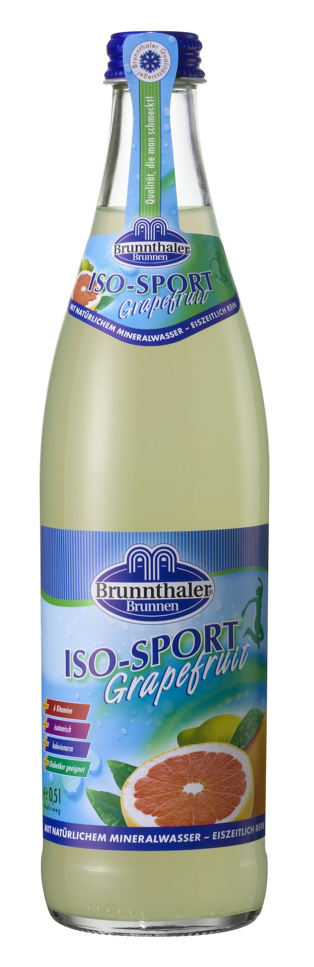 BRUNNTHALER Iso-Sport Grapefruit 20/o,5 Ltr. | Lieferservice ...