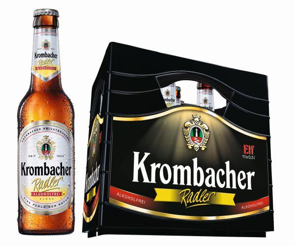 KROMBACHER Radler alkoholfrei 11/o,5 Ltr.