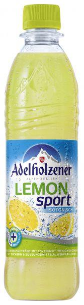 ADELHOLZENER Lemon-Sport 12/o,5 Ltr. PET